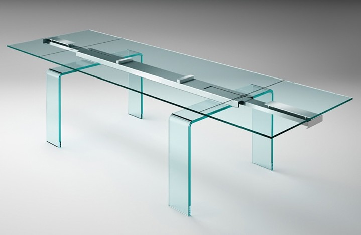 Gauss dining table from Fiam