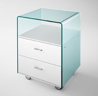 Rialto Cassettiera cabinet from Fiam, designed by CRS Fiam