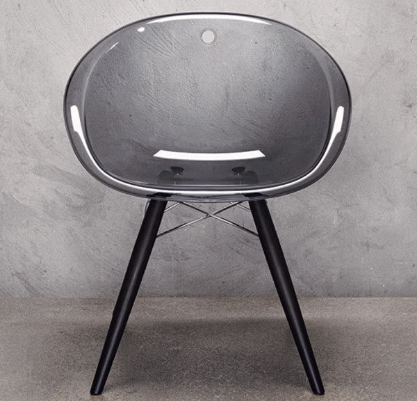 Gliss Wood chair from Pedrali, designed by Dondoli and Pocci