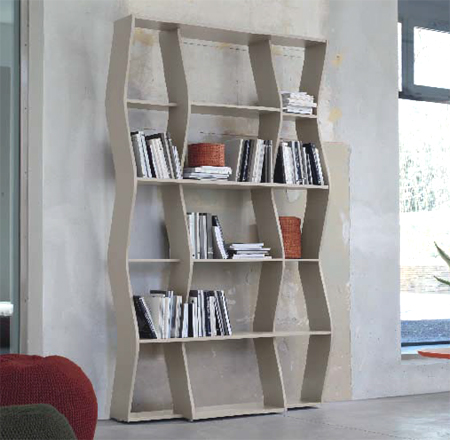 Swing, bookcase from Doimo
