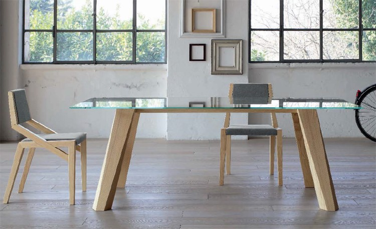 Trick dining table from Doimo