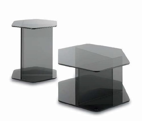 Cross end table from Doimo