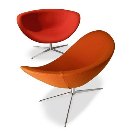 Poppy lounge chair from Tonon