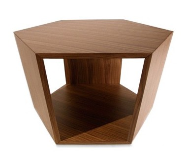 Diamonds end table from Tonon