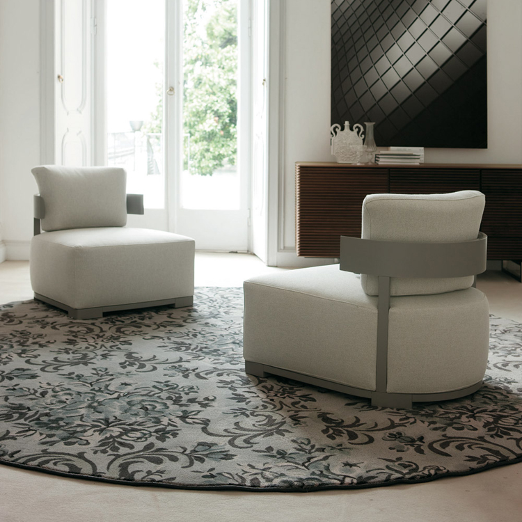 Bea lounge chair from Porada, designed by M. Marconato and T. Zappa