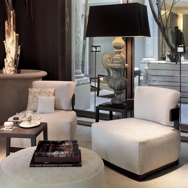 Bea lounge chair from Porada