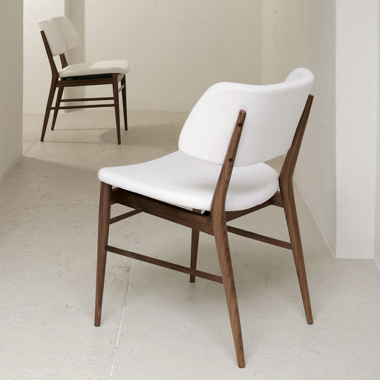 Nissa chair from Porada, designed by M. Marconato and T. Zappa