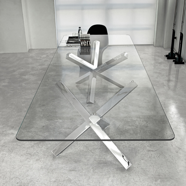Aikido Two Bases dining table from Sovet