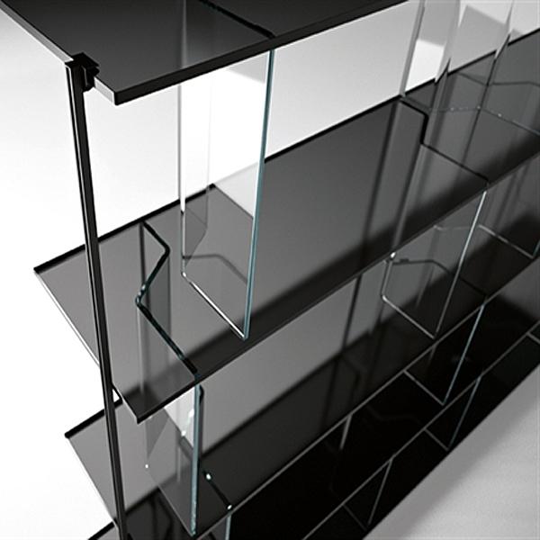 Inori System bookcase from Fiam, designed by Setsu et Shinobu Ito