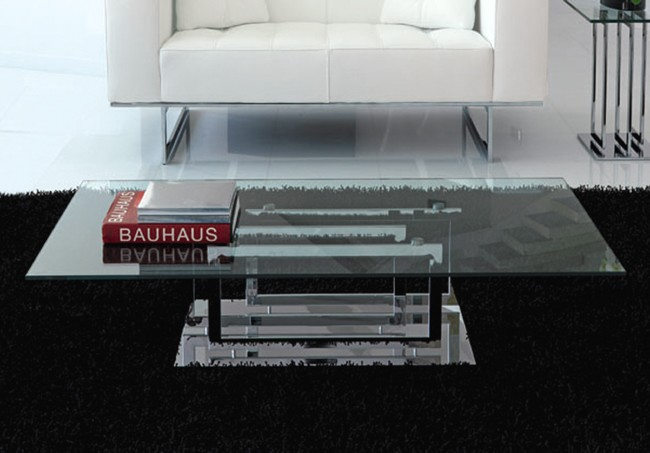 Excelsior coffee table from Steelline