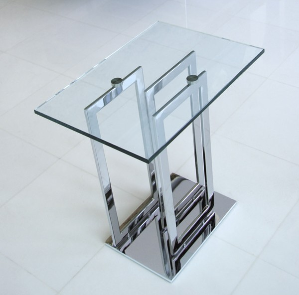 Imperial end table from Steelline