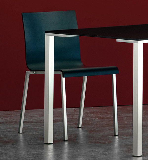 Kuadra XL 2411 chair from Pedrali, designed by Pedrali R&D