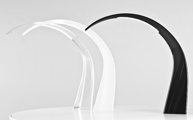 Taj lighting from Kartell, designed by Ferruccio Laviani