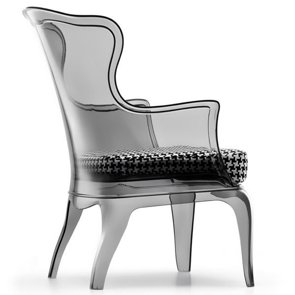 Pasha lounge chair from Pedrali, designed by Dondoli and Pocci