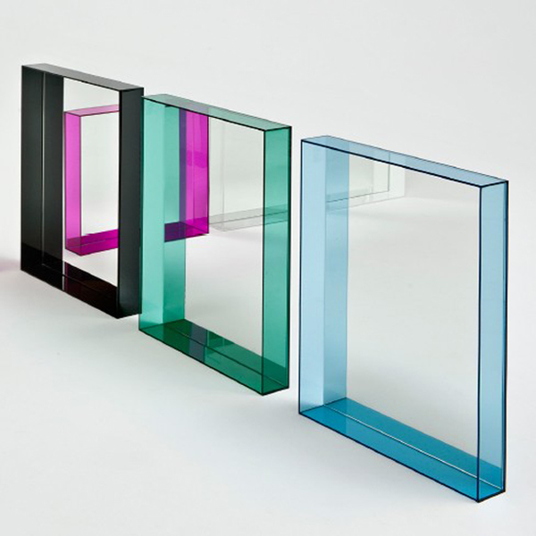 Only Me mirror from Kartell, designed by Philippe Starck
