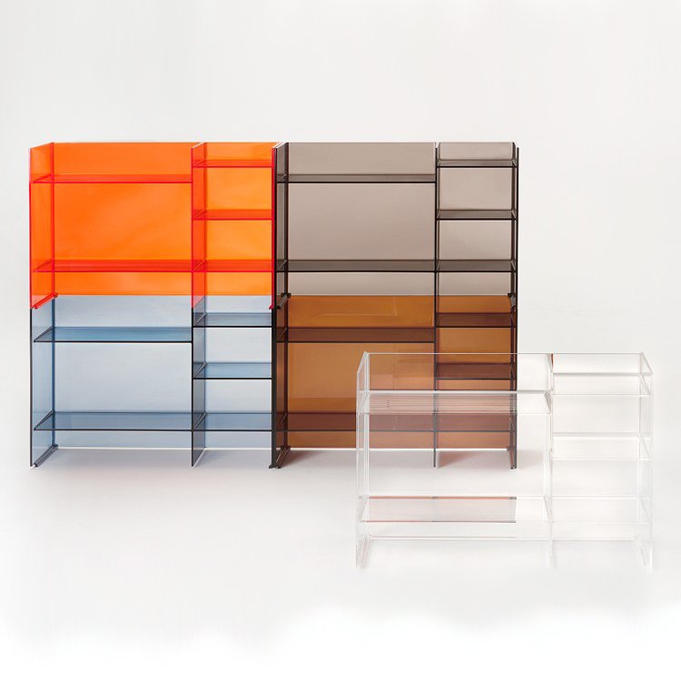 Sound Rack cabinet from Kartell, designed by Roberto Palomba