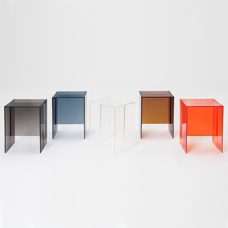 Max Beam end table from Kartell, designed by Roberto Palomba