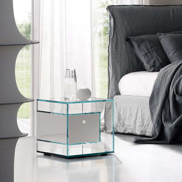 Liber E end table from Tonelli, designed by Luca Papini