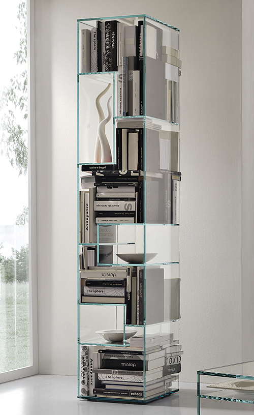 Liber B cabinet from Tonelli, designed by Luca Papini