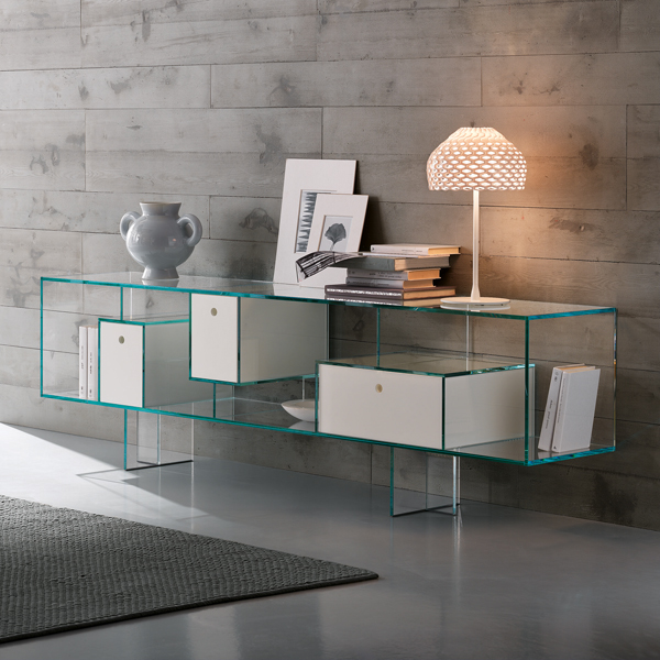 Liber M cabinet from Tonelli, designed by Luca Papini