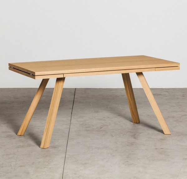 Miniforms Ettore Wooden Dining Table Contemporary