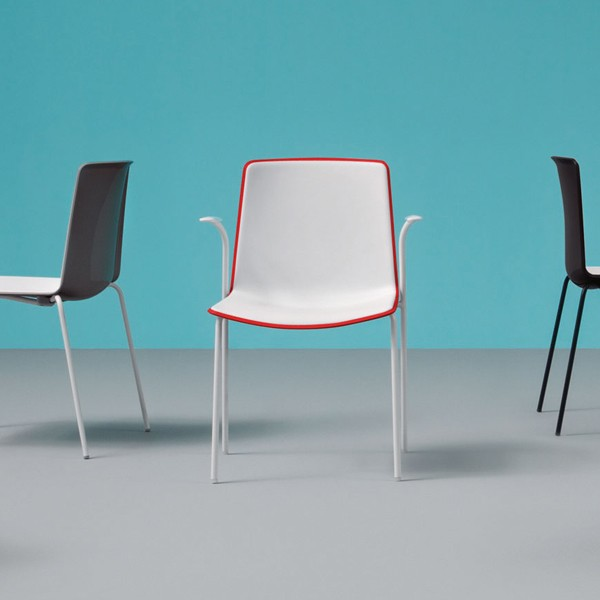 Tweet 895 chair from Pedrali, designed by Marc Sadler