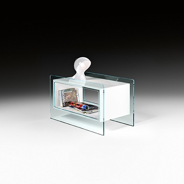 Magique Side, end table from Fiam