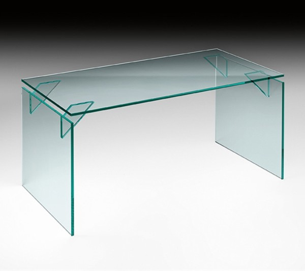 Bright, desk from Fiam