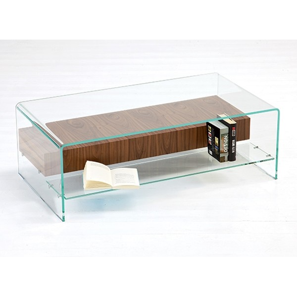 Bridge with Shelf/Drawer coffee table from Sovet