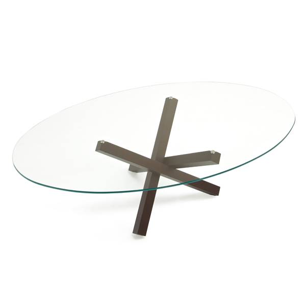 Aikido Elliptical dining table from Sovet