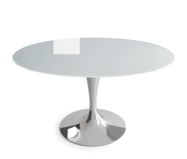 Flute Elliptical dining table from Sovet