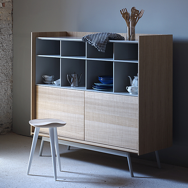 Edge Highboard cabinet from Miniforms, designed by E-ggs
