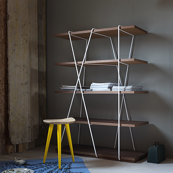 Matassa, bookcase from Miniforms