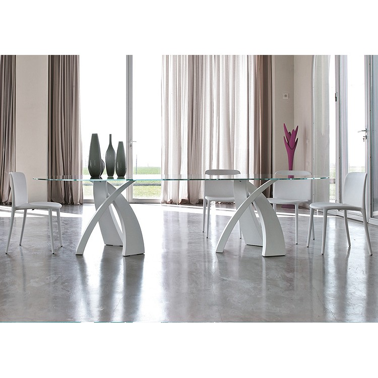 Big Eliseo 8061 dining table from Tonin Casa