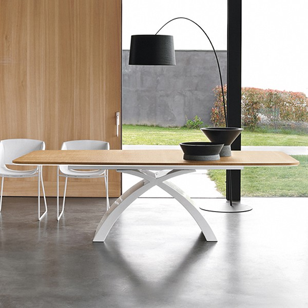 Tokyo 6951 Fixed dining table from Tonin Casa