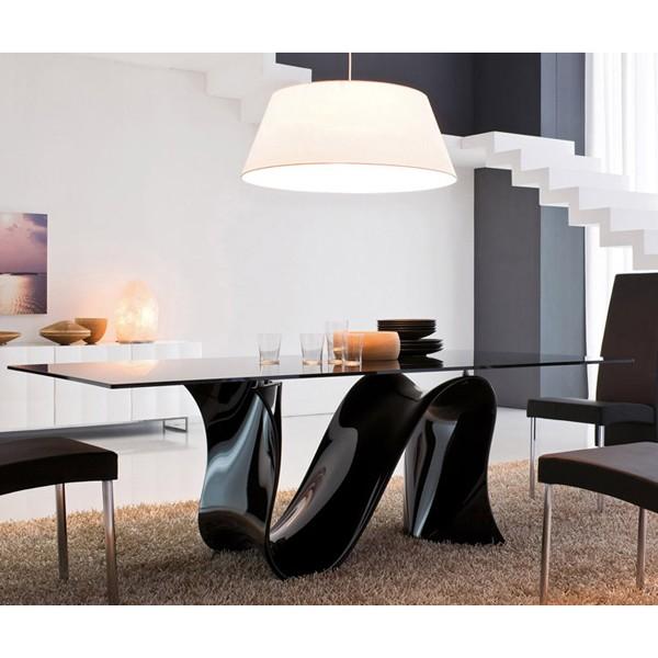 Wave 8014 Fixed dining table from Tonin Casa