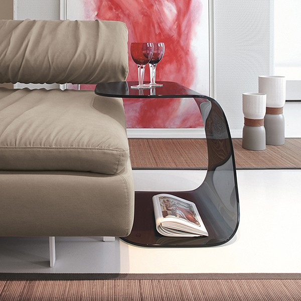 Beside 8167 coffee table from Tonin Casa