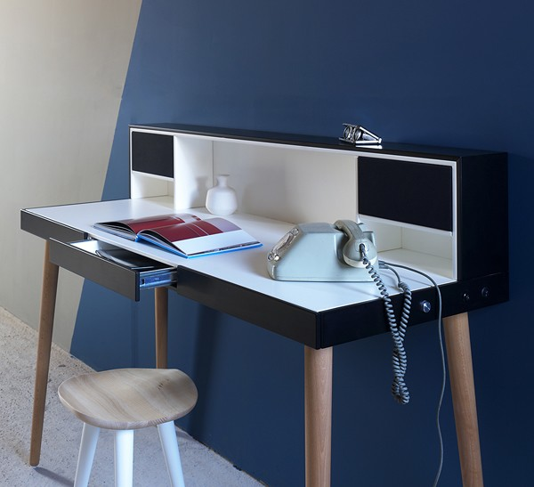 Bardino desk from Miniforms