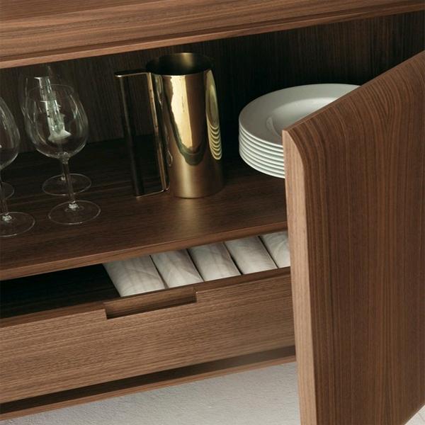 Hamilton Credenza sideboard from Porada, designed by Marelli & Molteni
