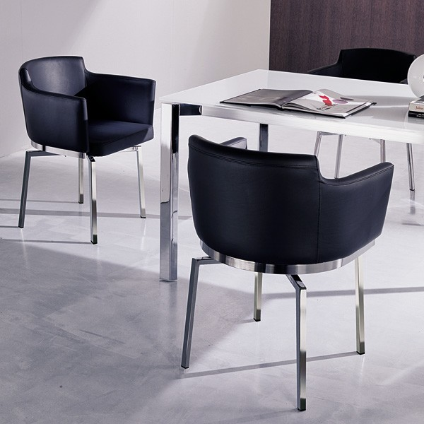 Swing S296 chair from Ozzio