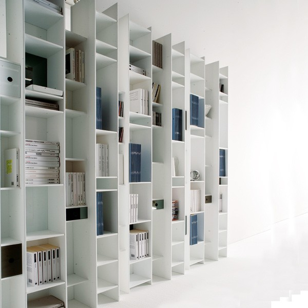 Byblos X026 bookcase from Ozzio