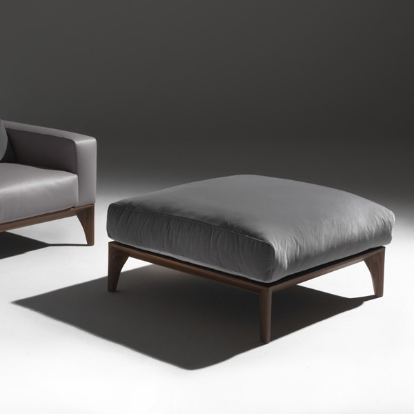 Fellow Pouf lounge chair from Porada, designed by M. Marconato and T. Zappa