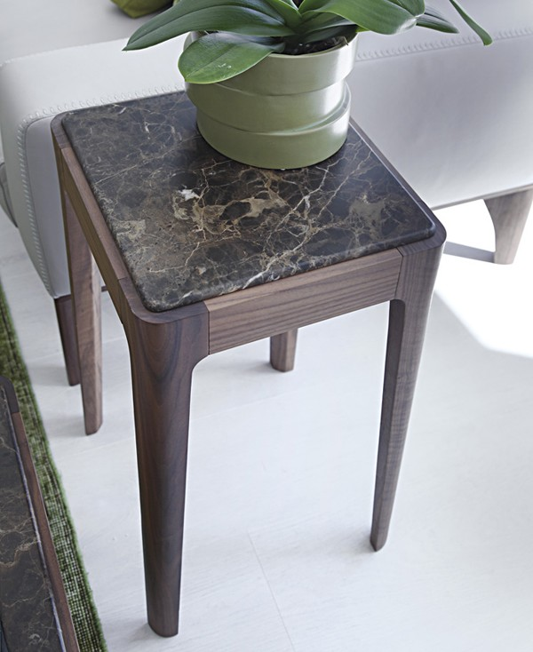 Ziggy Side Table end from Porada