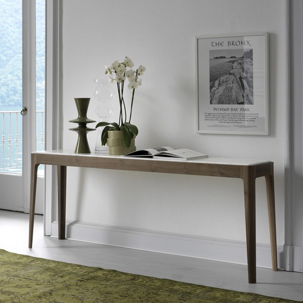 Ziggy Console Table from Porada, designed by C. Ballabio