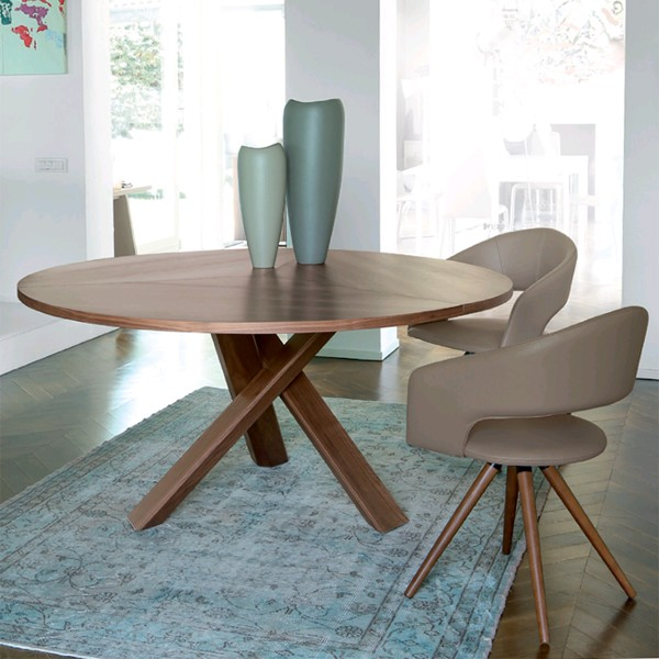 Resort Wood dining table from Antonello Italia