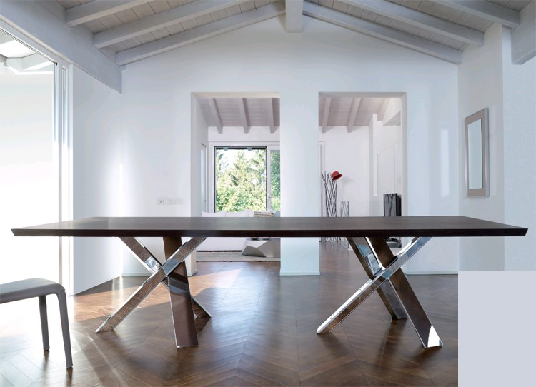 Twin Resort Wood dining table from Antonello Italia