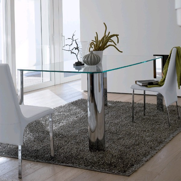 Scott Rectangular, dining table from Antonello Italia