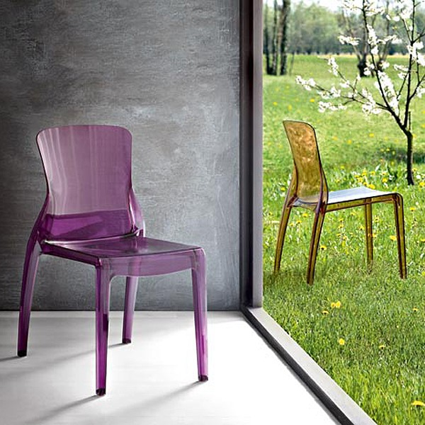Crystal chair from DomItalia
