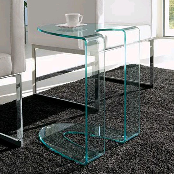 Ambrogio end table from Steelline