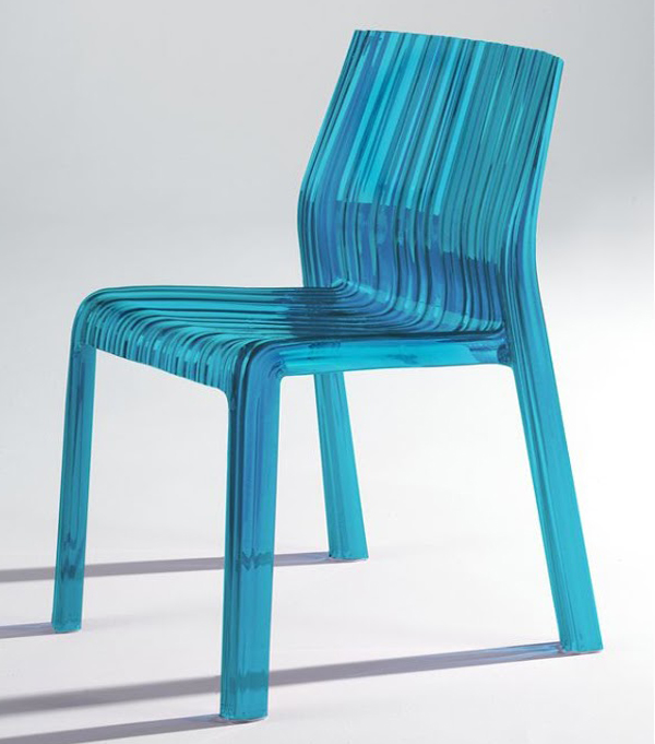 Frilly chair from Kartell, designed by Patricia Urquiola